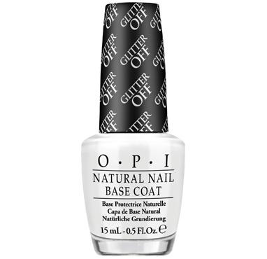 Nouvelle Base Coat OPI « Glitter Off » Elle permet de retirer les vernis à ongles pailletés  En quelques secondes sans dissolvant !
