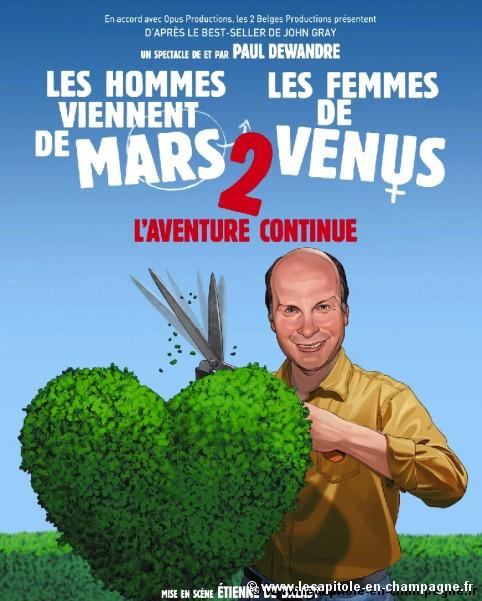 Les hommes viennent de Mars et les femmes de Vénus 2 : L'aventure continue